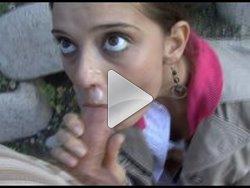 czech streets outdoor blowjob